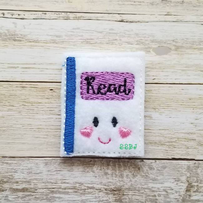 SSBJ School Cutie Book Embroidery File