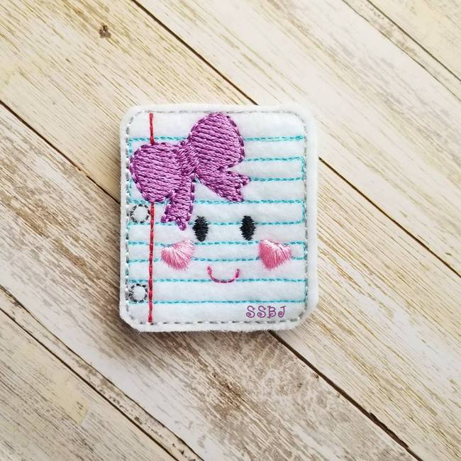 SSBJ School Cutie Paper Embroidery File