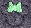 St. Patty Mouse Head