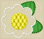 Daisy Embroidery File