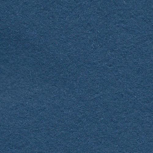 Deep Sea Blue Wool Blend Felt