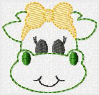 Dina Dragon Embroidery File