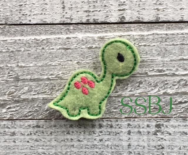 SSBJ Dino 2 Embroidery File