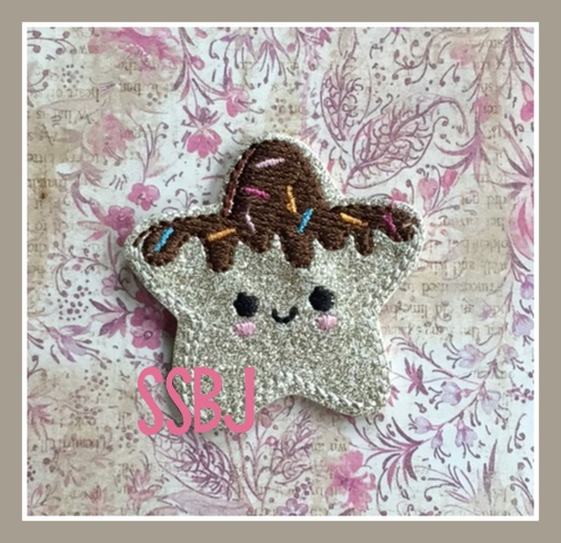 SSBJ Dipped Star Embroidery File