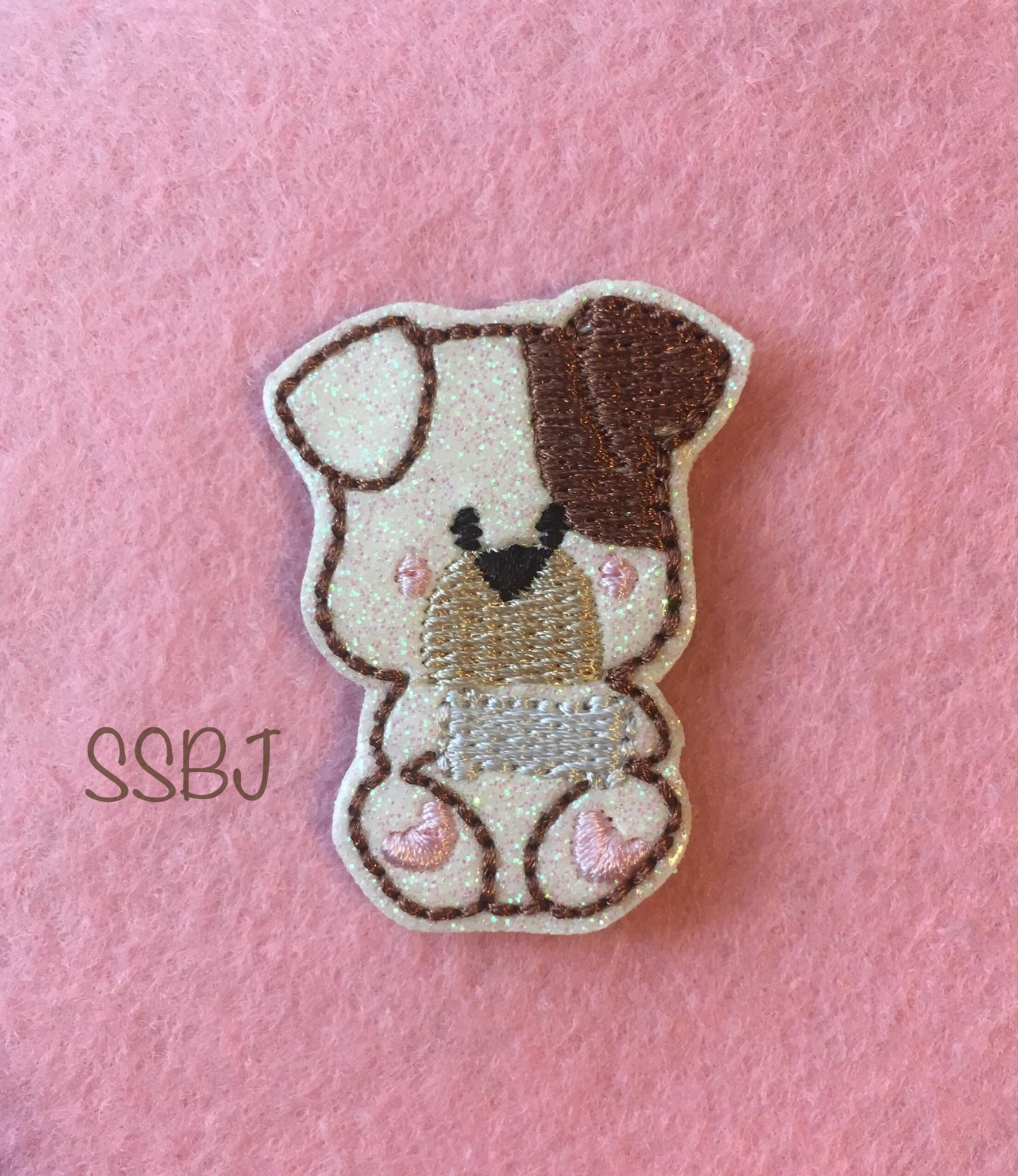 SSBJ Doggie Bone Embroidery File