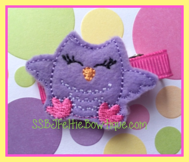 Doris the Owl Embroidery File