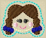 Dorothy LaLa FILLED Embroidery File