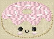 Doughnut Feltie & Feltie Keeper Embroidery File Set