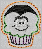 Drac Cupcake Embroidery File