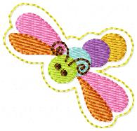 SS Dragonfly Embroidery File
