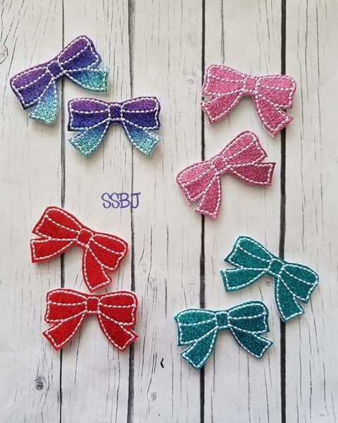 SSBJ Dress Bow Embroidery File