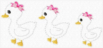 LBS Duckie Embroidery File