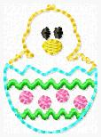 Easter Chick Embroidery File