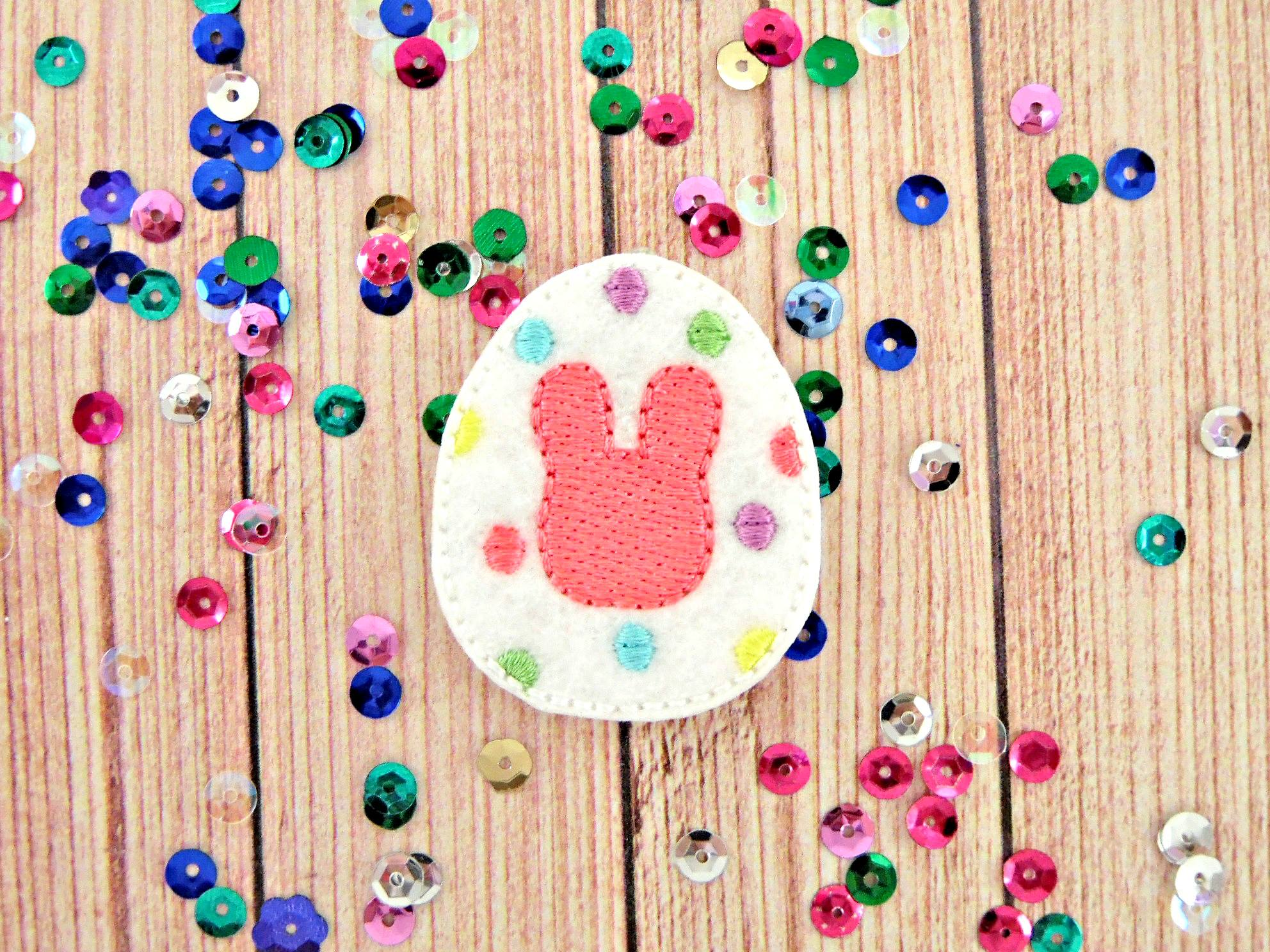 SSBJ Easter Egg Bunny Embroidery File