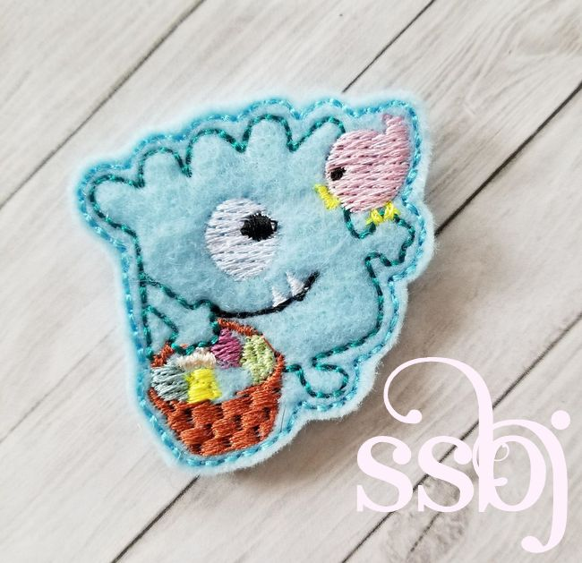 SSBJ Easter Monster 1 Embroidery File