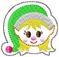Elf Girl Embroidery File