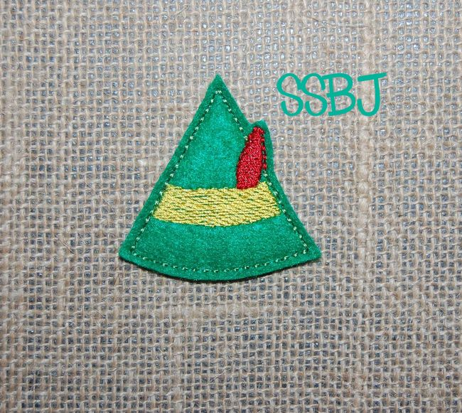 SSBJ Elf Hat Embroidery File