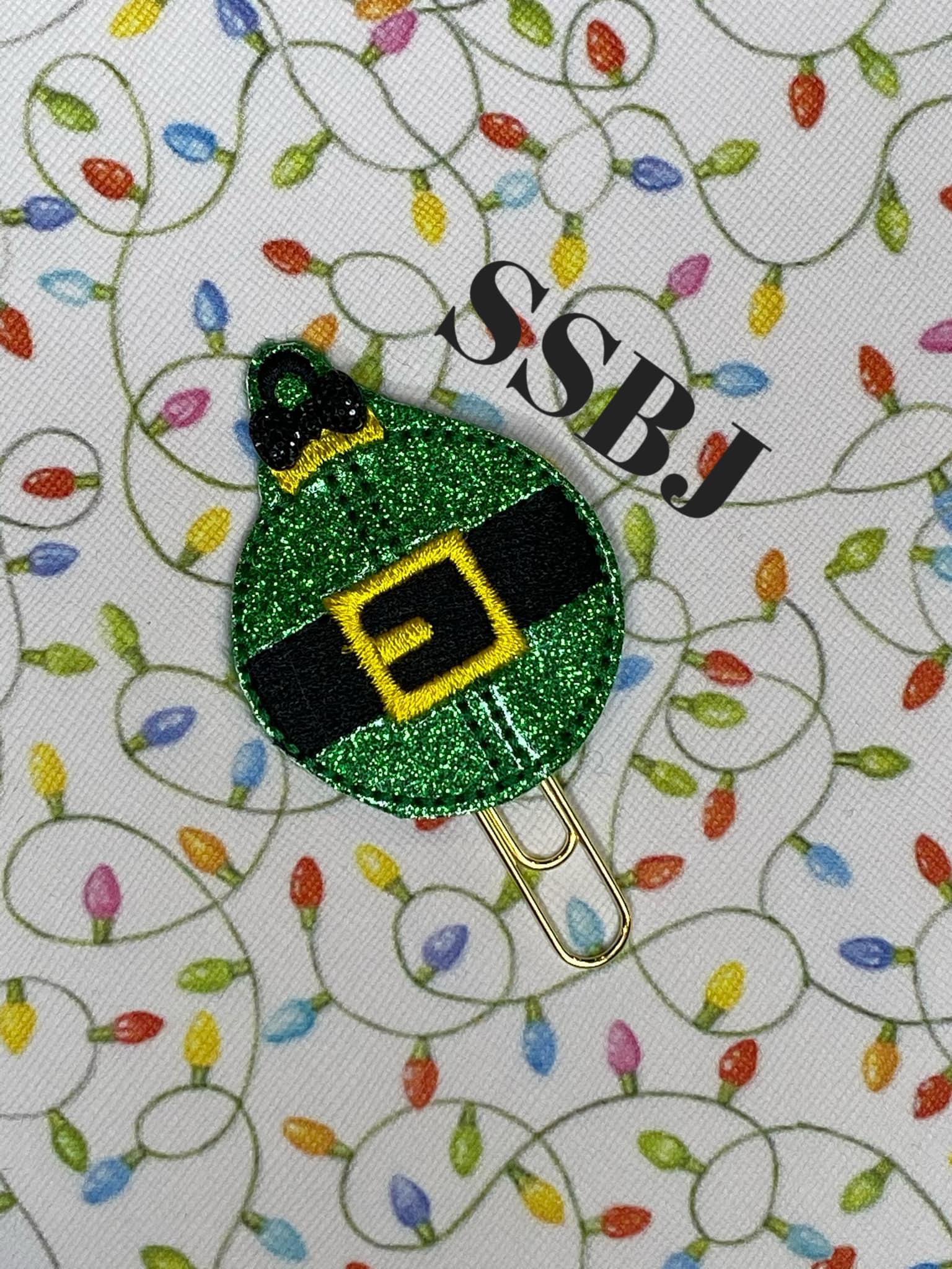 SSBJ Buddy's Elf Ornament Embroidery File