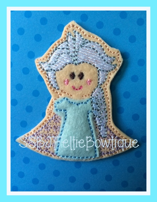 SSBJ Princess Elsa Feltie Set