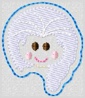 SS Elsa FACE Embroidery File