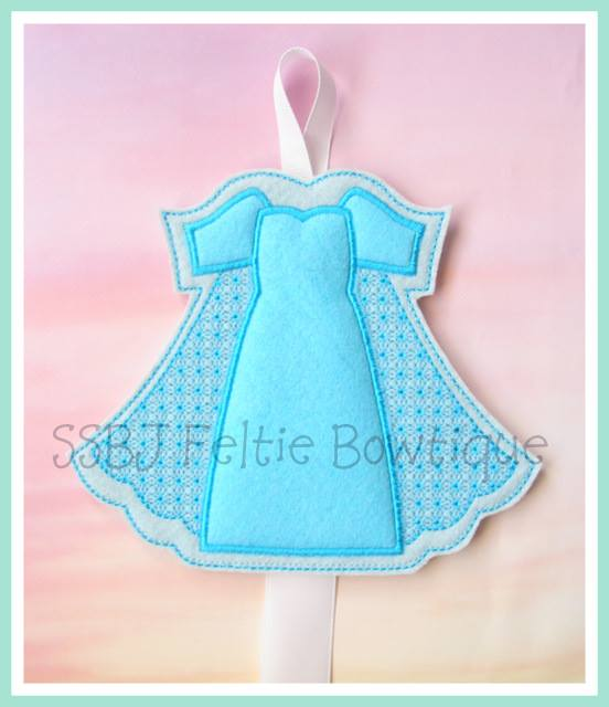 Elsa FK Dress Embroidery File