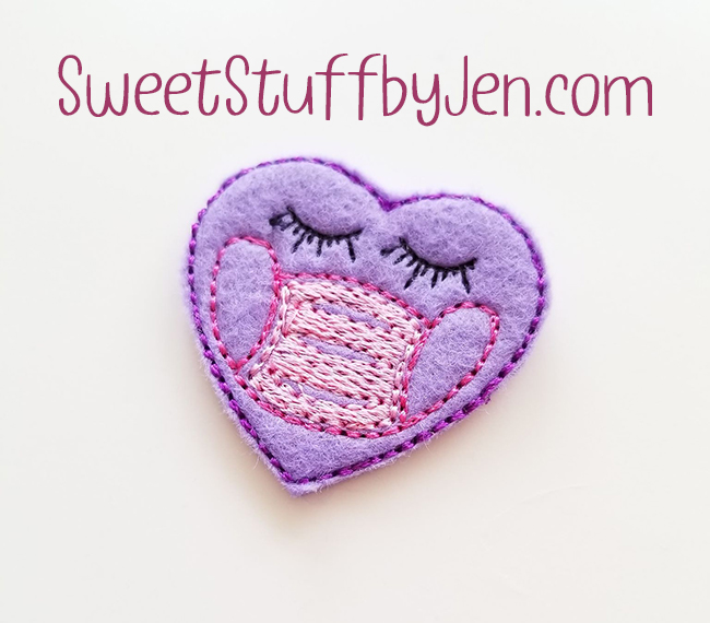 SSBJ Heart Mask Embroidery File