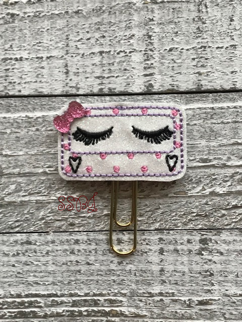 SSBJ Eyelashes Embroidery File
