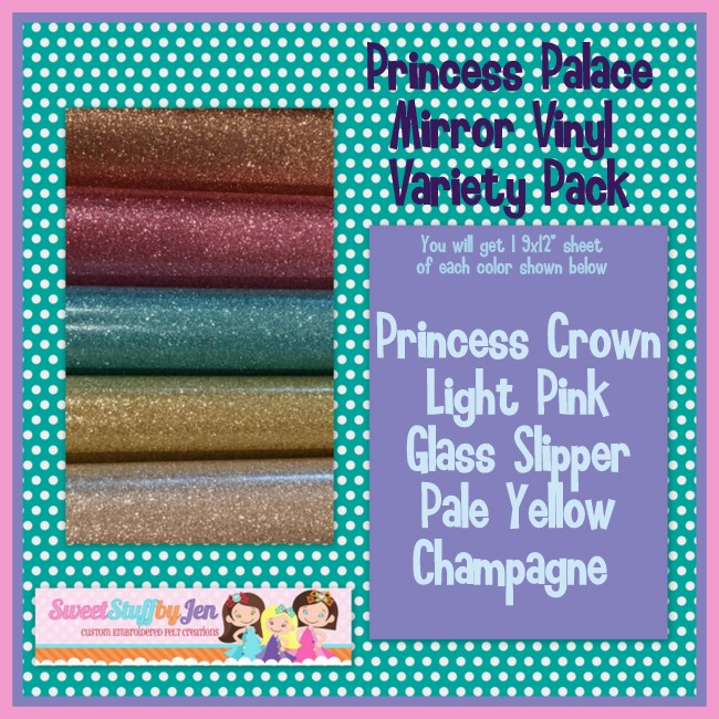 Princess Palace Mirror Vinyl Variety Pack