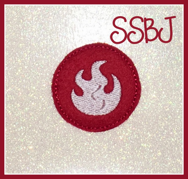 SSBJ Sky Fire Element Embroidery File