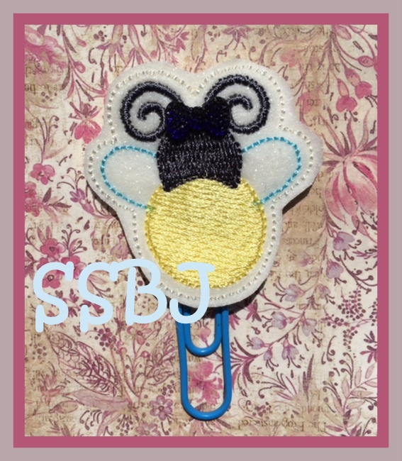 SSBJ Firefly 2 FILLED Version Embroidery File