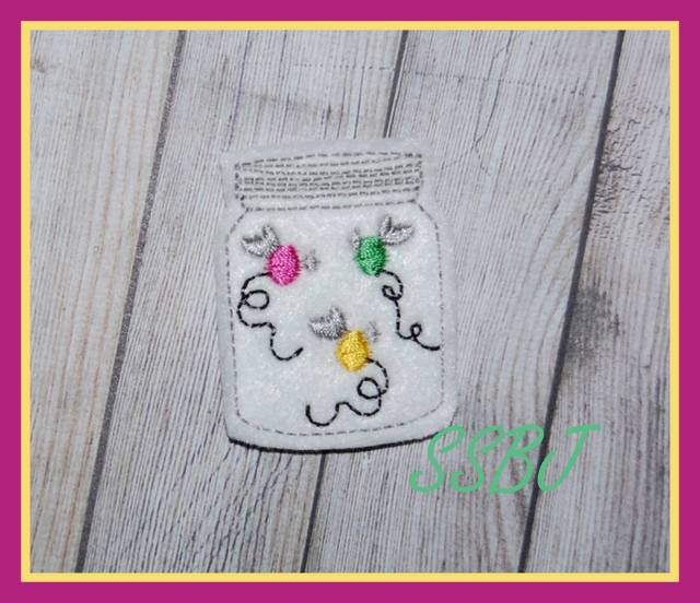 SSBJ Firefly Jar 2 Embroidery File
