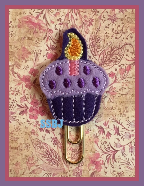 SSBJ First Birthday Cupcake Embroidery File