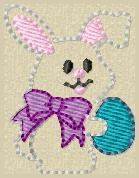 LBS My First Easter Egg Embroidery File