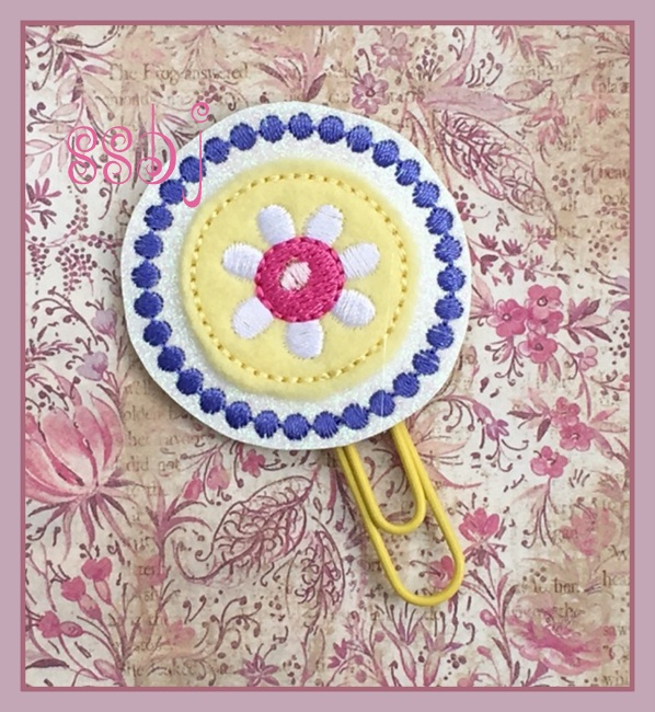 SSBJ Spring Planner 1 Embroidery File