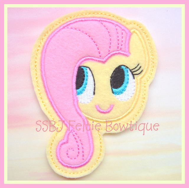 Fluttershy Pretty Pony Embroidery File