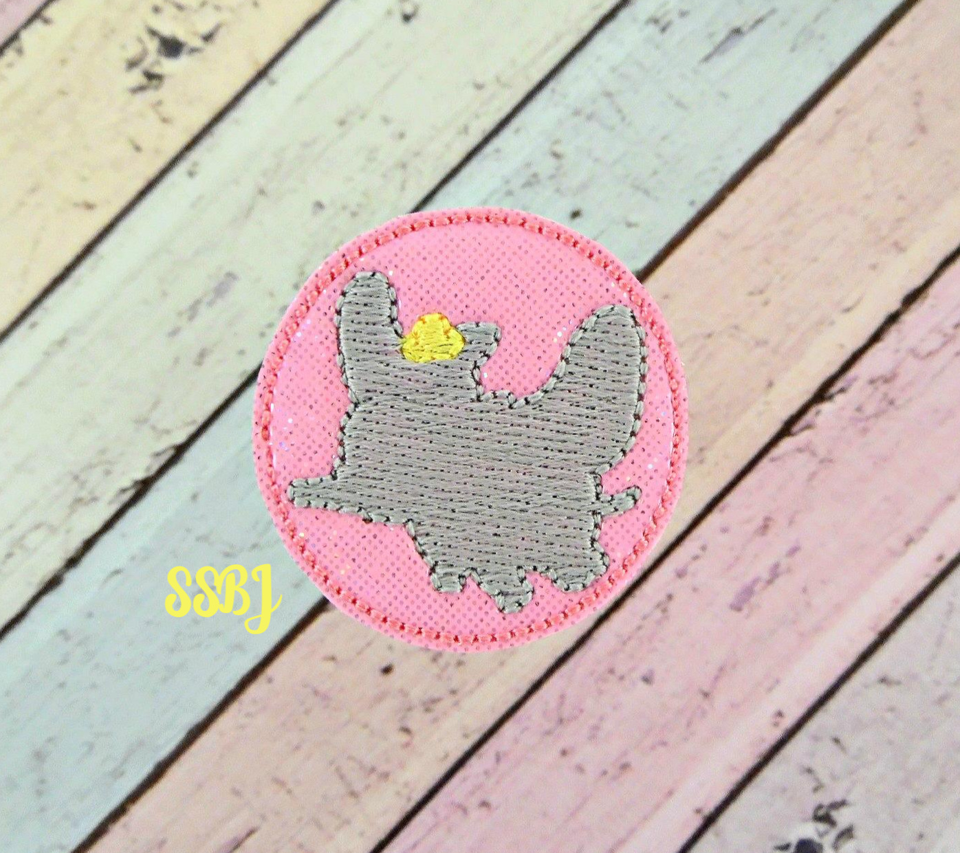 SSBJ Flying Dumbo Embroidery File