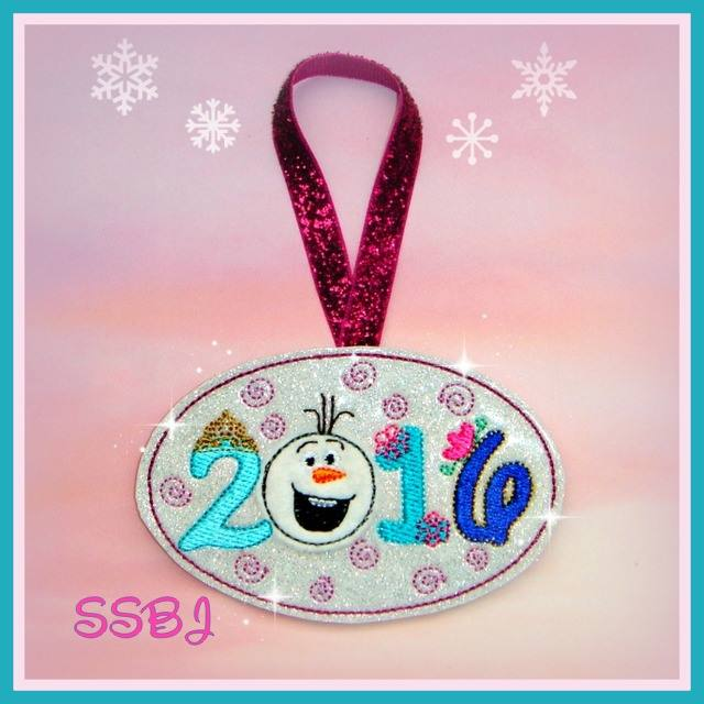 Freeze 2016 Ornament/Glam Band Slider Embroidery File