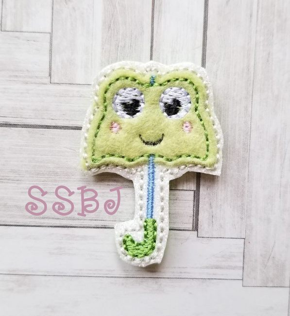 SSBJ Frog Umbrella Embroidery File