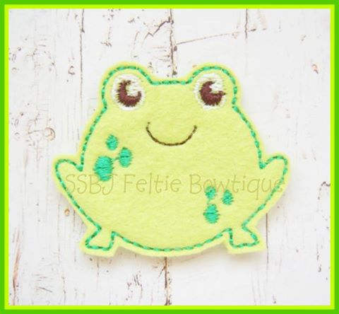 Froggie Embroidery File