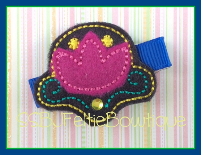 Anna Flower Embroidery File