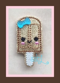 SSBJ Fudge Pop Embroidery File