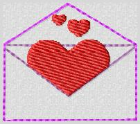 Full of Hearts Embroidery File