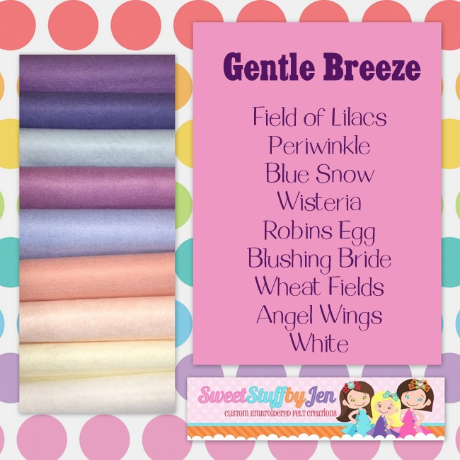 Gentle Breeze Felt Pack