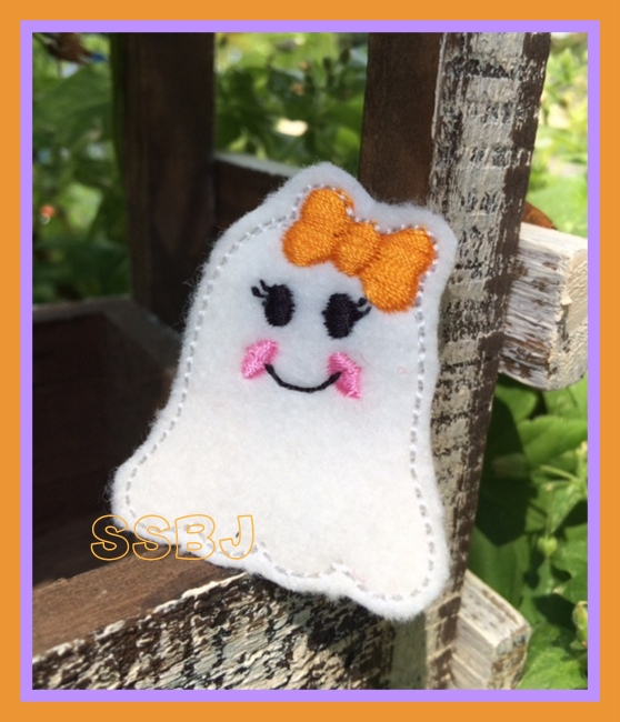 Glam Ghost 2 Embroidery File