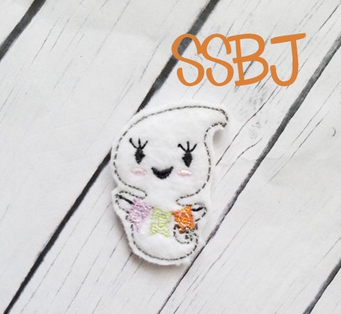 SSBJ Ghost BOO Embroidery File