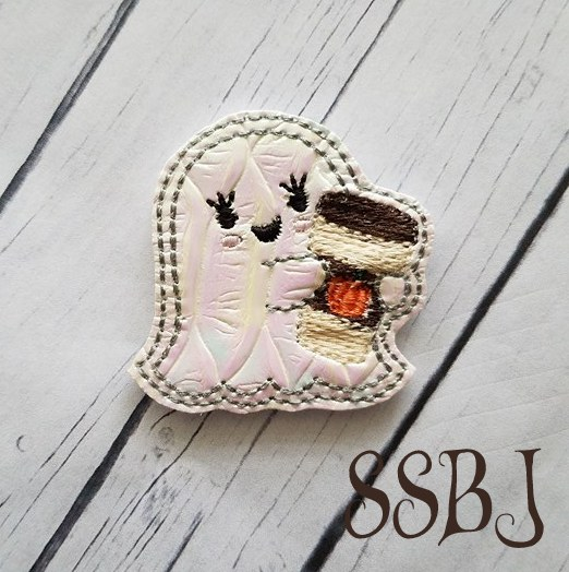 SSBJ Ghost Latte Embroidery File
