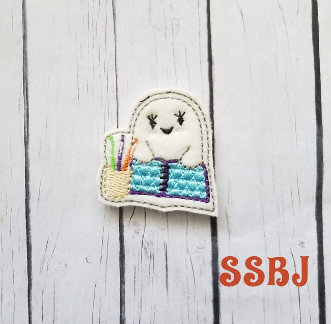 SSBJ Ghost Planner Embroidery File