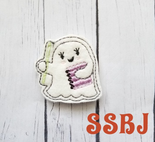 SSBJ Ghost Planner 2 Embroidery File