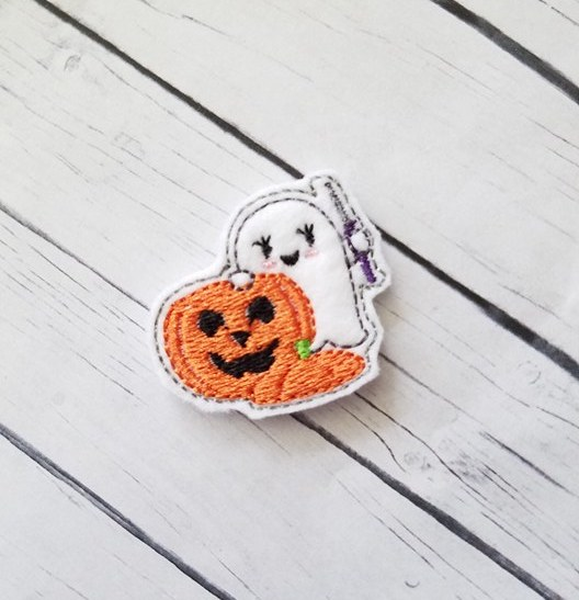 SSBJ Ghost Pumpkin Carver Embroidery File