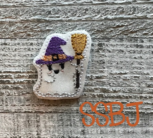 SSBJ Ghost Witch Embroidery File